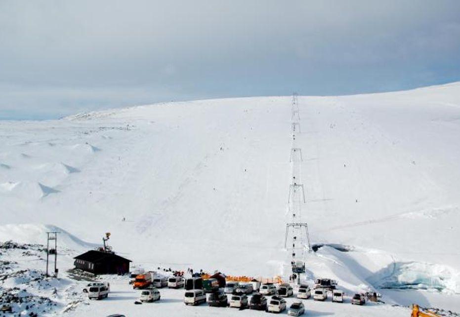 Galdhopiggen Glacier Image